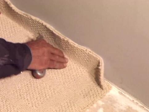 Настил ковролина на линолеум: пошаговое описание