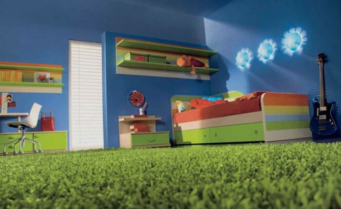 Как выбрать ковролин в детскую комнату (фото)