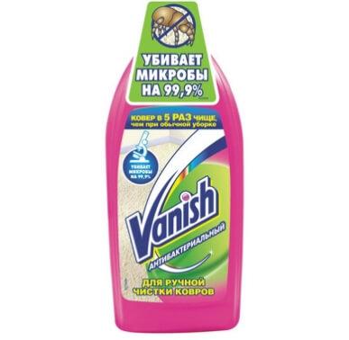 Средство Vanish для ковров