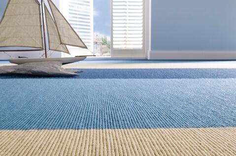 Полосатое ковровое покрытие
