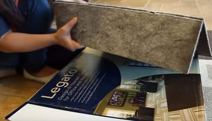 Шаг 7 - разъедините разрезанную плитку