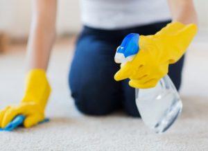 Самостоятельная чистка ковролина